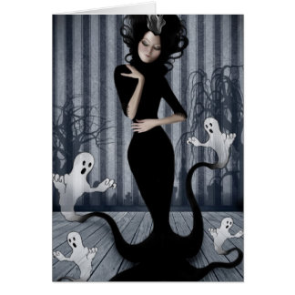 Seance Queen Note Card