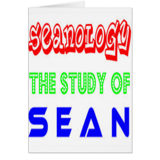Seanology Card