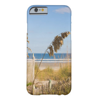 Seaoats (Uniola paniculata) and fencing for Barely There iPhone 6 Case