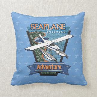 Seaplane Aviation Adventure Cushion