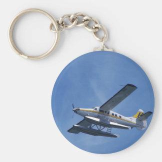 Seaplane Basic Round Button Key Ring