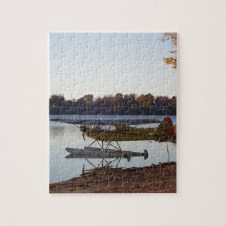 Seaplane by the Lake Jigsaw Puzzle