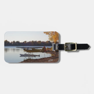 Seaplane by the Lake Luggage Tag