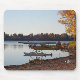 Seaplane by the Lake Mouse Pad