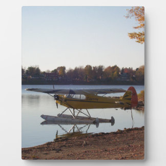 Seaplane by the Lake Plaque