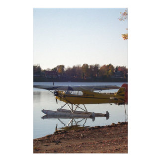 Seaplane by the Lake Stationery