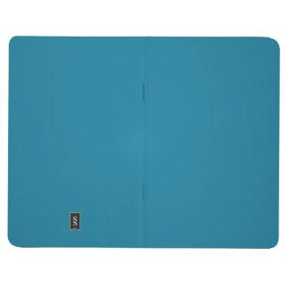 Seaport Blue Dark Teal 2015 Color Trend Template Journal