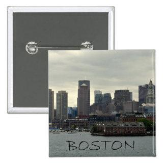 SEAPORT OF BOSTON HARBOR 15 CM SQUARE BADGE