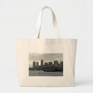 SEAPORT OF BOSTON HARBOR JUMBO TOTE BAG