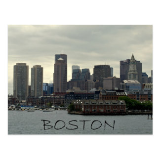 SEAPORT OF BOSTON HARBOR POSTCARD