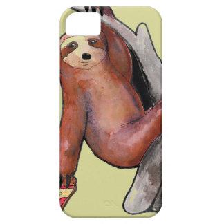 seapunk vaporwave grunge kawaii cute sloth pizza iPhone 5 case
