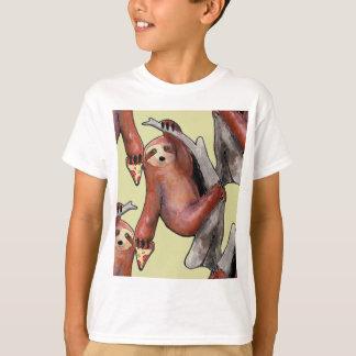 seapunk vaporwave grunge kawaii cute sloth pizza T-Shirt