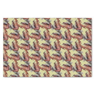seapunk vaporwave grunge kawaii cute sloth pizza tissue paper