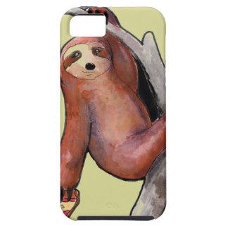 seapunk vaporwave grunge kawaii cute sloth pizza tough iPhone 5 case
