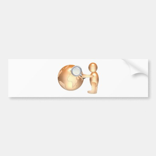 search internet bumper sticker