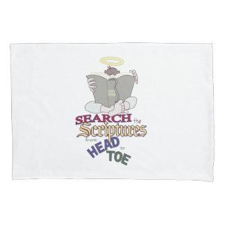 Search the Scriptures - Book of Mormon Pillowcase