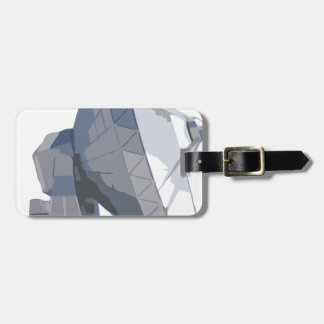 searching2 luggage tag