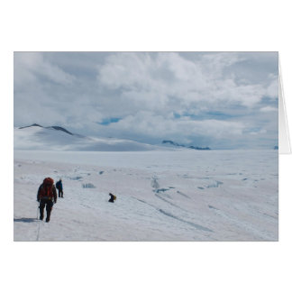 Searching for Crevasses on the Upper Vaughan Lewis Card