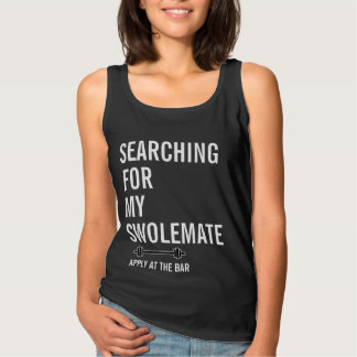 Searching for My SwoleMate Gym Fitness Sleeveless Singlet