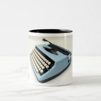 Sears portable typewriter Two-Tone mug