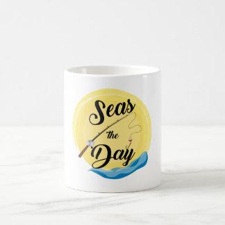 Seas The Day Coffee Mug