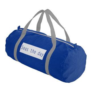Seas the Day Duffle Bag Gym Duffel Bag