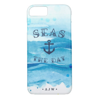 Seas the Day | Monogram iPhone 8/7 Case