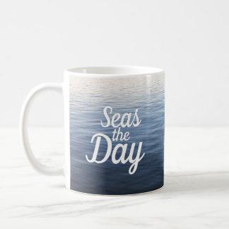 """Seas"" the Day Mug"