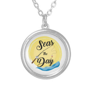 Seas The Day Silver Plated Necklace