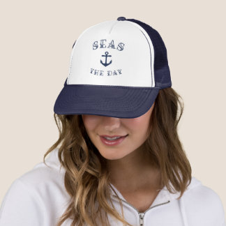 Seas the Day Trucker Hat