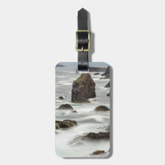Seascape and sea stacks, Shetland Luggage Tag