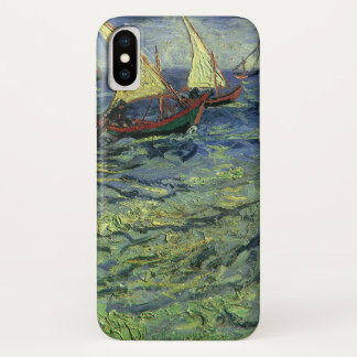 Seascape at Saintes Maries by Vincent van Gogh iPhone X Case