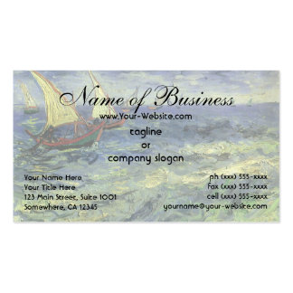 Seascape at Saintes-Maries by Vincent van Gogh Pack Of Standard Business Cards