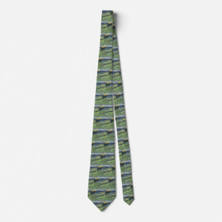 Seascape at Saintes Maries by Vincent van Gogh Tie