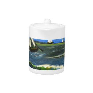 Seascape at Saintes-Maries, Van Gogh