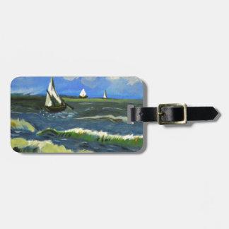 Seascape at Saintes-Maries, Van Gogh Bag Tag