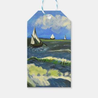 Seascape at Saintes-Maries, Van Gogh Gift Tags