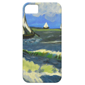 Seascape at Saintes-Maries, Van Gogh iPhone 5 Cases