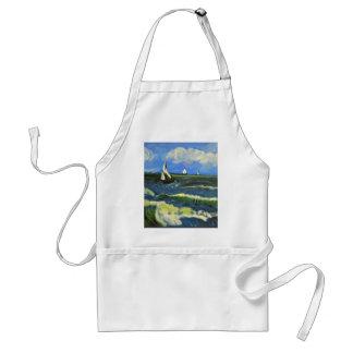 Seascape at Saintes-Maries, Van Gogh Standard Apron