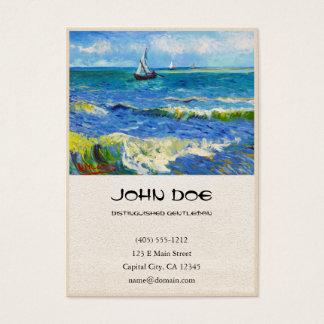 Seascape at Saintes-Maries Vincent Van Gogh