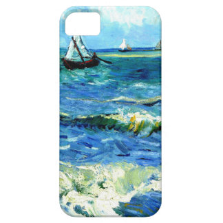 Seascape at Saintes-Maries, Vincent Van Gogh iPhone 5 Cases