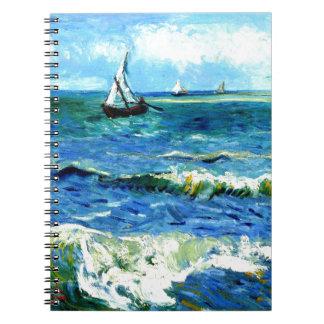 Seascape at Saintes-Maries, Vincent Van Gogh Notebooks