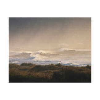 Seascape Canvas Print Stormy Ocean Oregon Coast