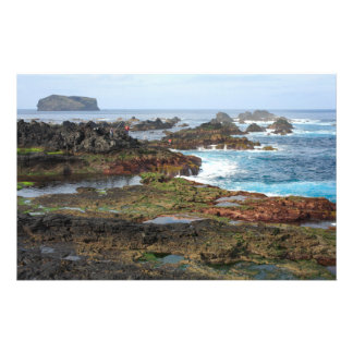Seascape from Azores islands Personalized Stationery