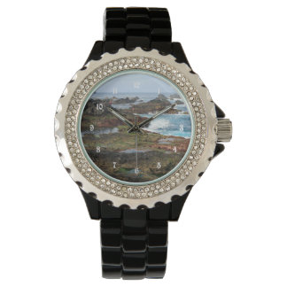 Seascape from Azores islands Wristwatch
