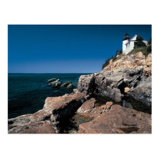 Seascape in Acadia National Park , Maine Bass Postcard