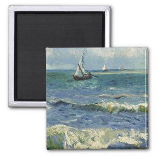 Seascape Les Saintes-Maries-de-la-Mer by Van Gogh Fridge Magnet