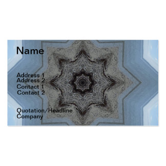 Seascape Mandala Double-Sided Standard Business Cards (Pack Of 100)