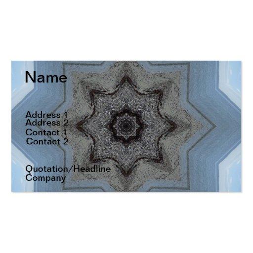 Seascape Mandala Business Card Template