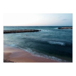 Seascape Pack Of Chubby Business Cards